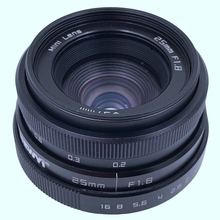 Newyi Mini 25 мм F1.8 Aps C телеобъектив/Cctv объектив для 16 мм C Mount камеры