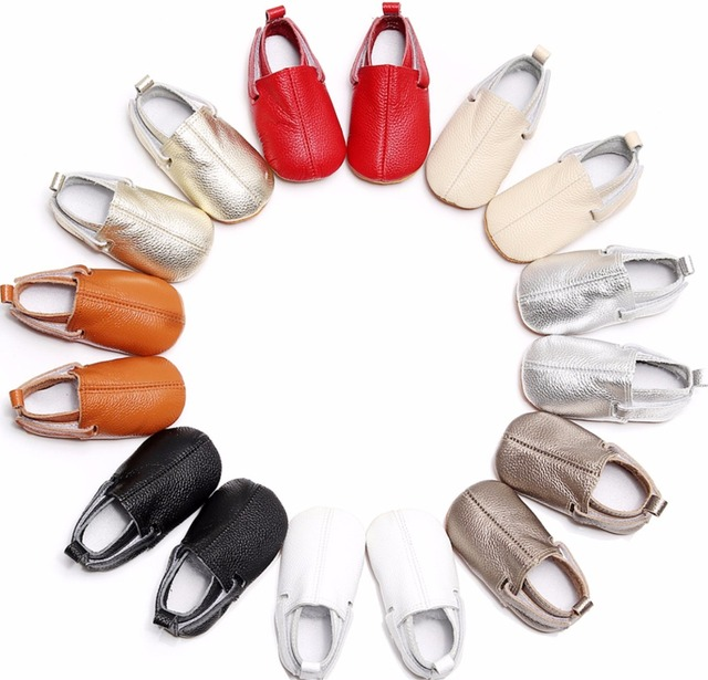 2019  customs new hot sell baby moccasins genuine leather handmade baby girls boys shoes first walkers fashion baby shoes 5