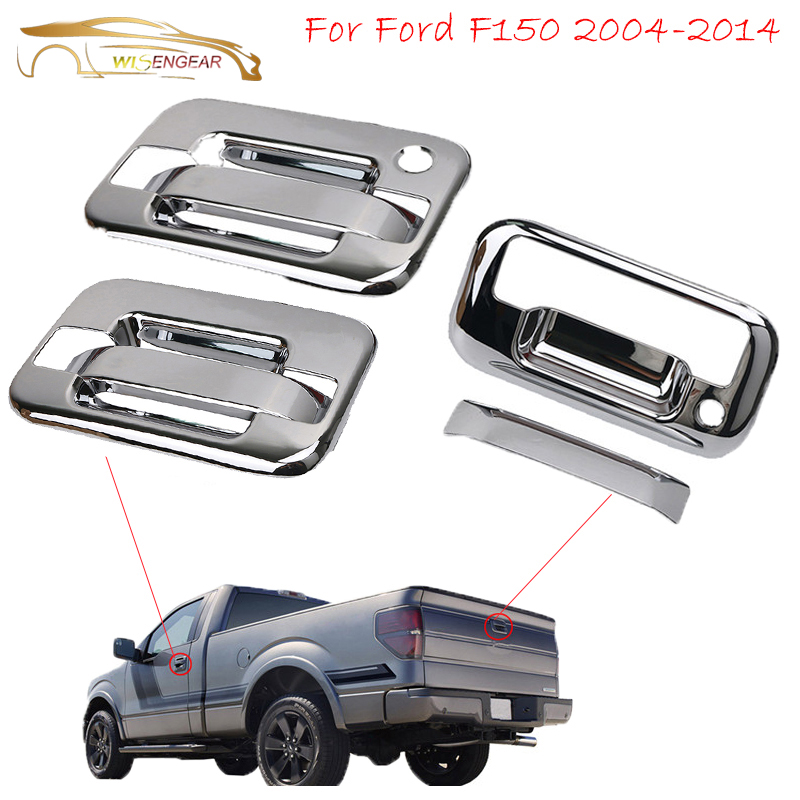 Chrome Fender Trim for 2004-2011 Ford F150