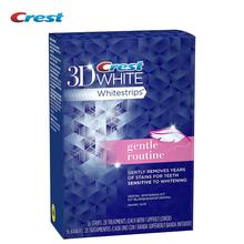 Crest 3D White Whitestrips Teeth Whitening Mild White Patch of Yellow Teeth Professional Tooth Whitener (28 Pouches/56Strips)