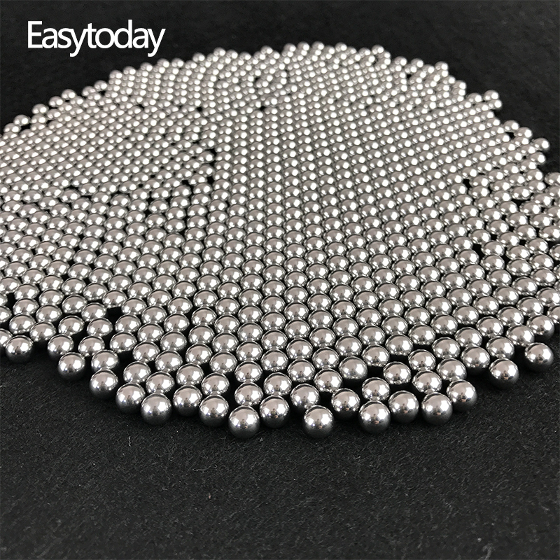 Easytoday 2000 pcs Lot 6mm Steel Balls Slingshot Hunting High carbon Steel Slingshot Balls Catapult Hitting Ammo Accessories in Bow Arrow from Sports Entertainment