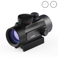 BIJIA Optics Scope 1X40 Holographic Riflescope Red Green Dot Tactical Sight 20mm Air Rifle Scope For