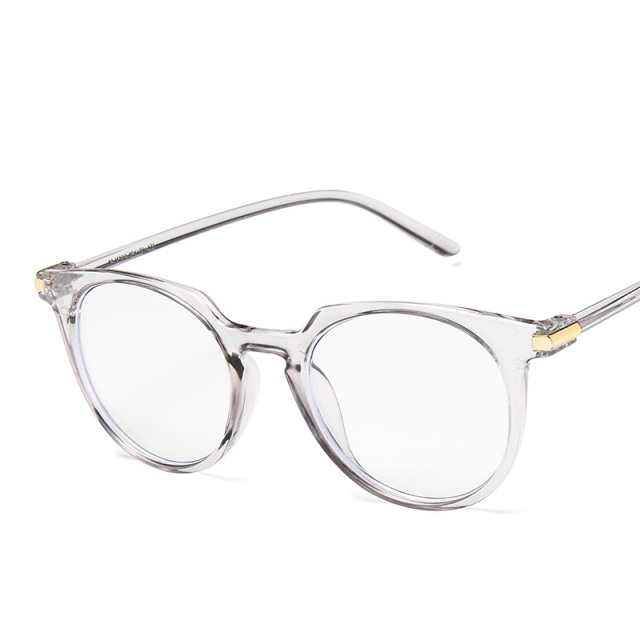 9266f58c3dce 2019 Fashion Women Glasses Frame Men Eye glasses Frames Vintage Cat Eye  Clear Lens Blue Light
