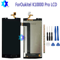 For Original Oukitel K10000 Pro LCD Display Touch Screen Panel Digital Replacement Parts Assembly 5 5