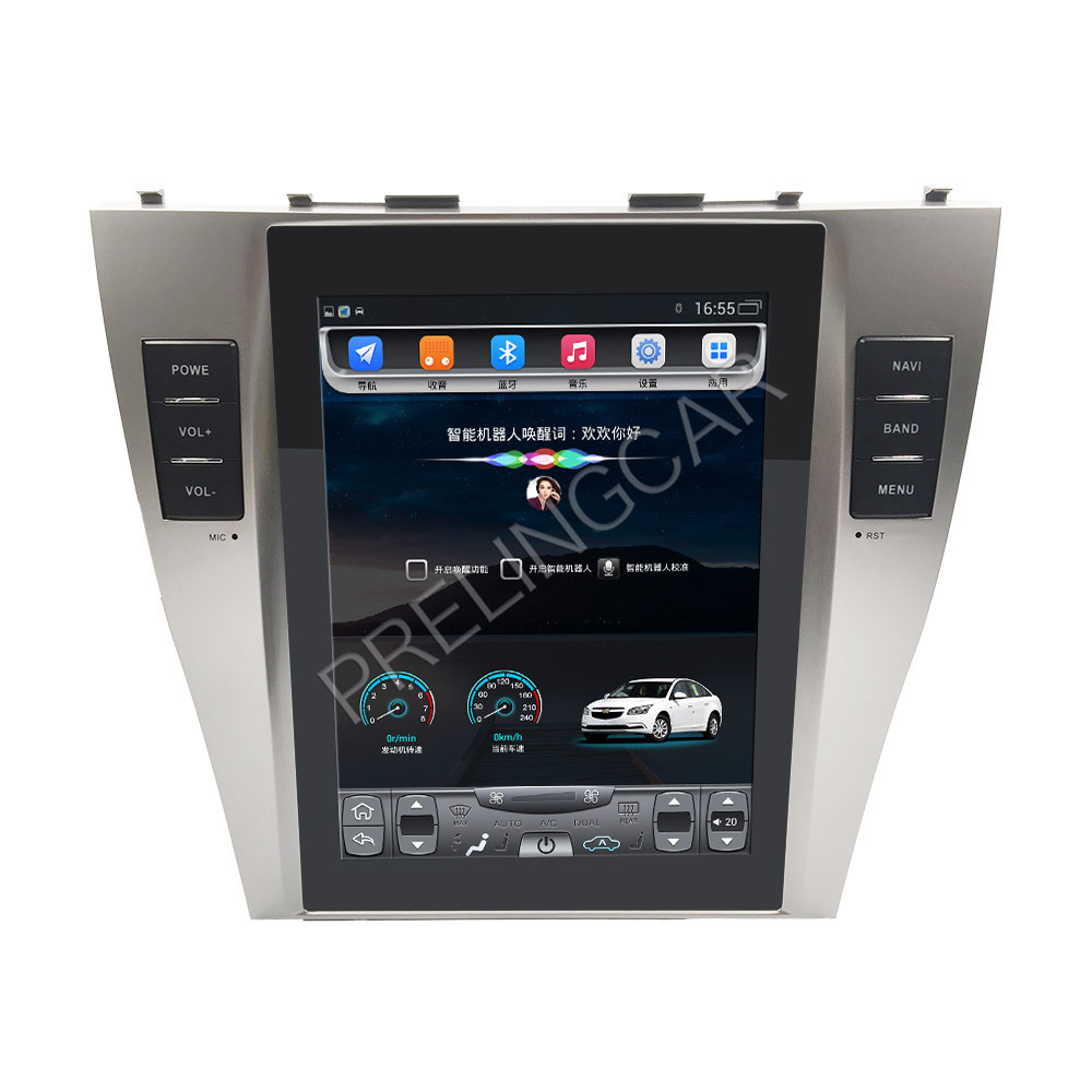 32G ROM Vertical screen android car gps multimedia video radio player in dash for toyota camry