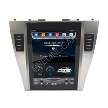 32G ROM Vertikale screen android auto gps multimedia video radio player in dash für toyota camry 2007-2013 jahre auto navigaton