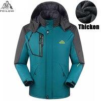 Winter Jacket Men Women Thick Jacket Coat For Men Velvet Windproof Male Jacket Outwear Waterproof Coat