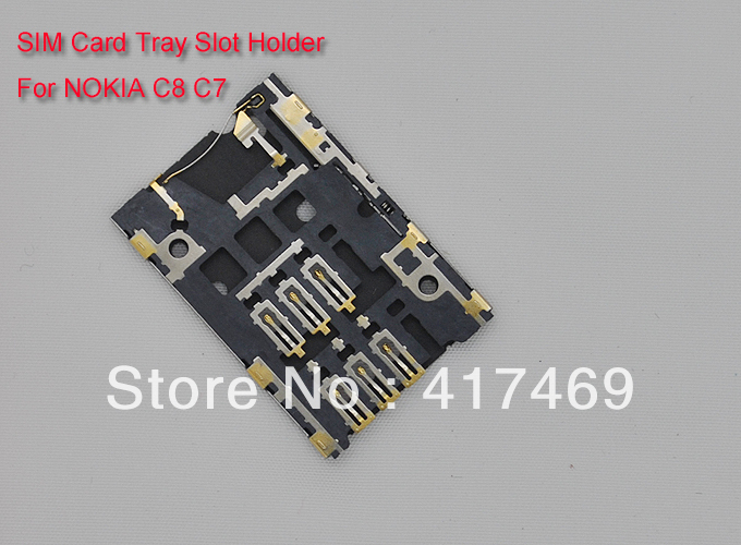 Sim card reader tray slot holder for nokia n8 c710 pcslot in sim card reader tray slot holder for nokia n8 c710 pcslot in mobile phone flex cables from cellphones telecommunications on aliexpress alibaba reheart Choice Image