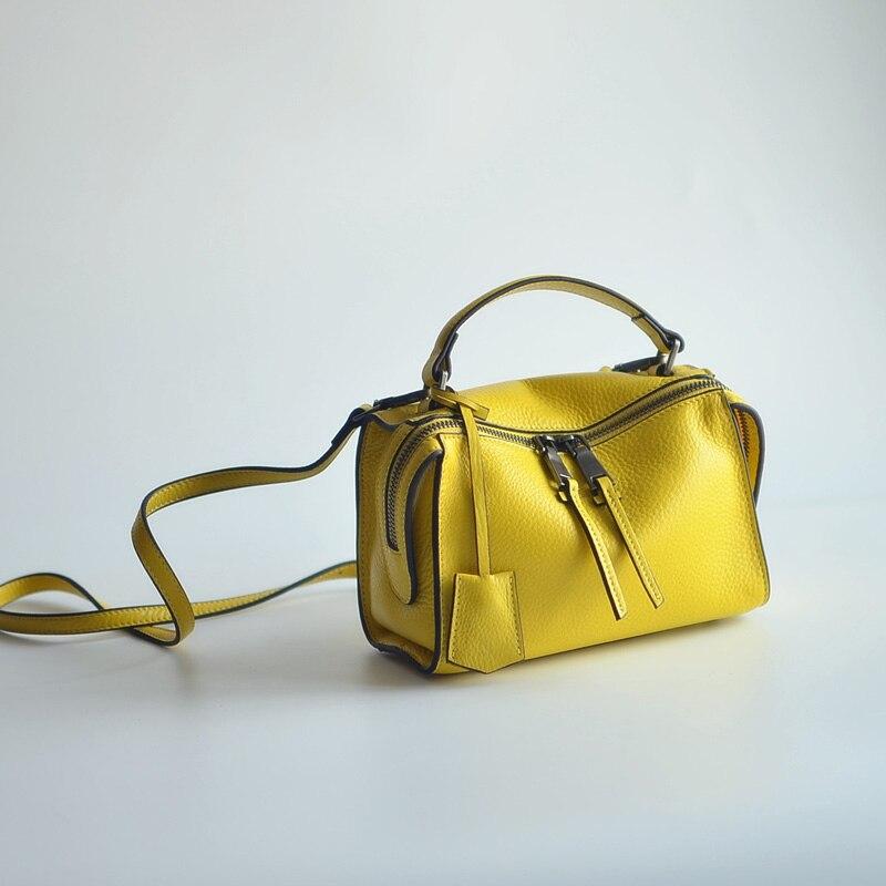 Japan and South Korea magazine fashion first layer of skin, Mini Leather Mini Handbag ежедневник japan and south korea 520