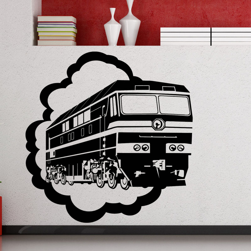 Aliexpress.com : Buy Train Locomotive Wall Decals Kids Bedroom Vinyl  Removable Creative Wall Stickers Home Decor Living Room From Reliable Decor  Sticker ...