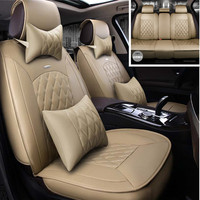 High Quality Special leather car seat cover for Nissan All Models Qashqai Note Teana Tiida Almera X trai auto accessorie