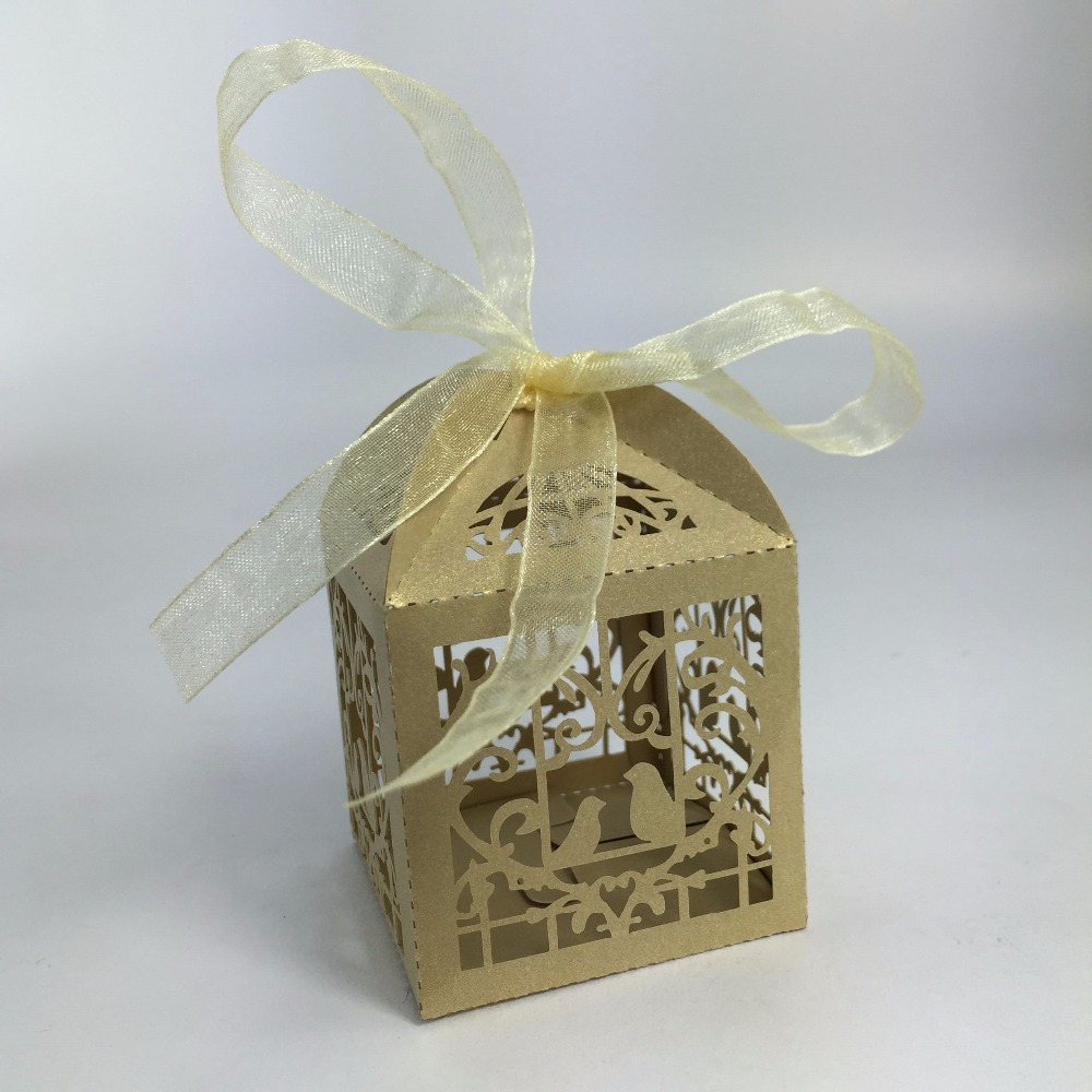 Aliexpress Whole Wedding Candy Box Laser Cut Favor Bo Casamento Favors Gifts From Reliable Gift Suppliers On