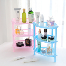 купить Plastic Multipurpose Shelf with Removable Crack Rack Triangle Shape Bathroom Storage Rack Shelf Multi-layer Kitchen Side Shelf по цене 421.07 рублей