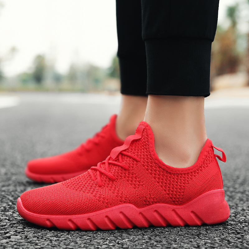 2018 Basic Classic Men Fashion Canvas Espadrilles Shoes Knitting Leisure Trekking Sneakers Walking Breathable Krasovki Shoes