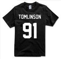Simple mode Louis Tomlinson 91 Shirt Un Sens T-shirt T-Shirt T-shirt T-shirt Unisexe Plus Taille Et Couleurs