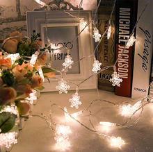 Праздничное освещение 3 м 20led Снежинка домашнее рождественское