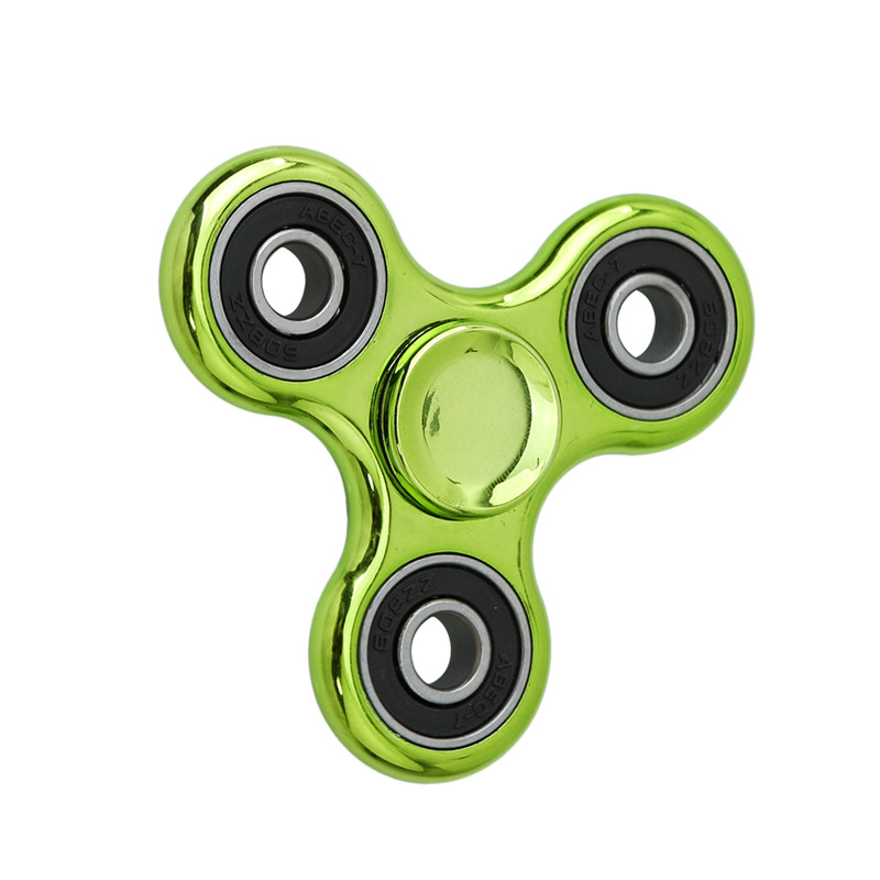 Hand Spinner Copper Tri-Spinner Fidgets Toy EDC Sensory Fidget Spinner For Autism and ADHD Kids/Adult Funny Anti Stress Toys  50pcsnew pattern colorful hand tri spinner fidgets toy torqbar alloy edc sensory fidget spinners for autism and kids adult funny