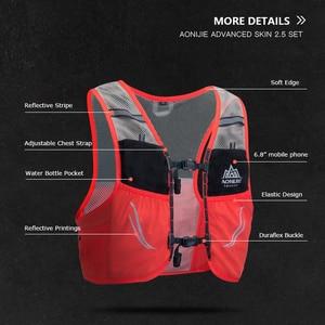 Image 5 - AONIJIEใหม่2.5L Hydration Packกระเป๋าเป้สะพายหลังRucksackกระเป๋าเสื้อกั๊กน้ำเดินป่าตั้งแคมป์วิ่งมาราธอนการแข่งขันปีนเขา