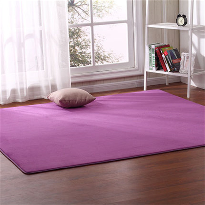 140cmx200cm Coral Velvet Carpet Living Room Coffee Table Blanket Bedroom Bedside Mat Bed Front Room Rug Tatami Yoga Mat