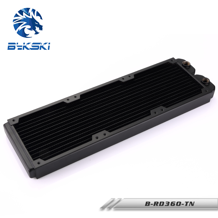 Bykski 360 B-RD360-TN Mm 3x12 cm radiador de cobre líquido refrigeración por agua