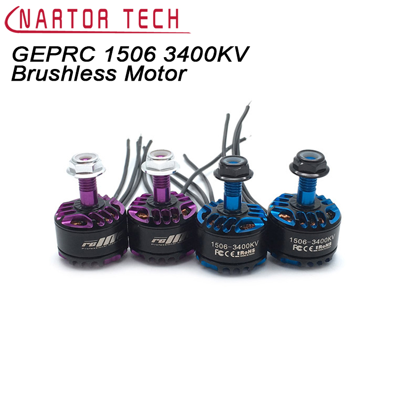 GEPRC 1506 3400KV 4100KV Brushless Motor FPV Small Motor for RC Model Airplane Spare Parts Quadcopter Multicopter Drone 2216 brushless motor 950kv for fpv drone quadcopter rc airplane fixed wing multicopter f450 550 s500 aircraft accessories