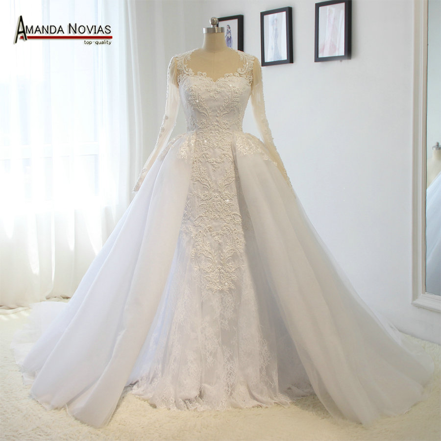 Wedding Dress Vestido Noiva 2016 Hot Sale Amanda Novias