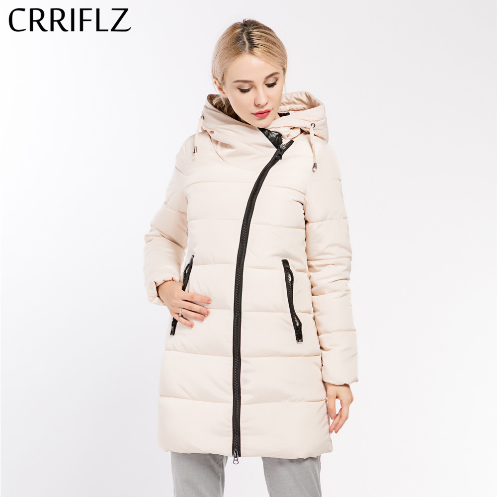 Autumn Winter Jacket Women Hooded Coat Women's   Parkas   Long Warm Female Jacket Coat Slim Outwear