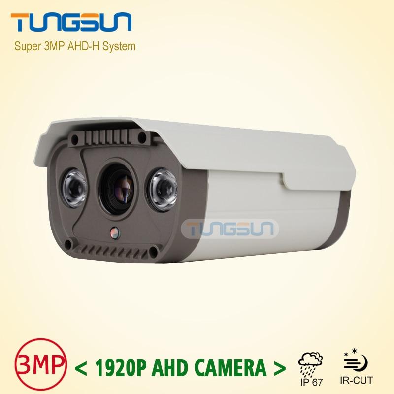 ФОТО Super Full HD 3MP Security 1920P Surveillance Waterproof outdoor Vandal-proof  2* Array infrared Night Vision CCTV AHD Camera