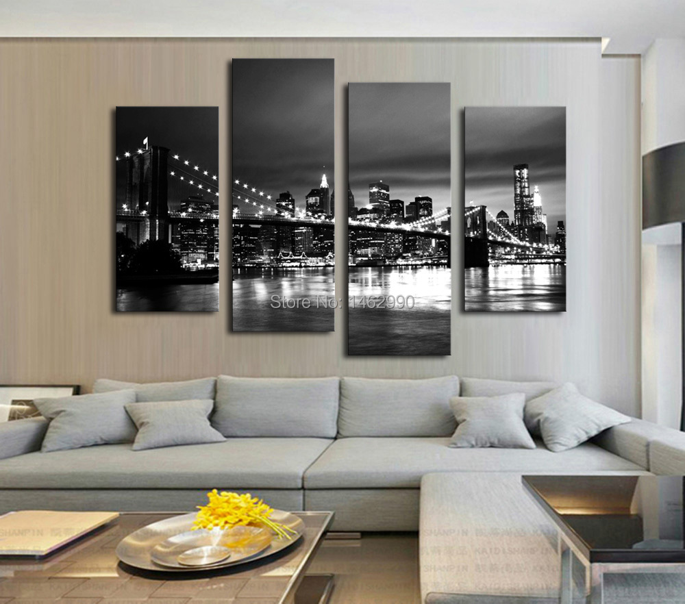 Not Framed Canvas Print Canvas Painting New York Brooklyn
