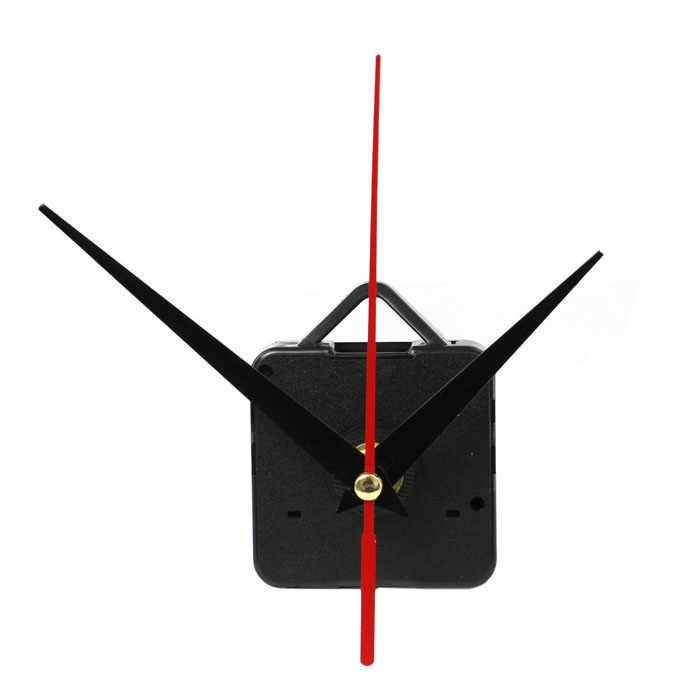 Высокое качество, бесшумные большие настенные часы, кварцевый механизм, черный и красный набор для ремонта рук, набор инструментов с крюком, Saat, новинка 2019, 7