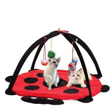 Ladybug Shape Plush Pet Cat Play Bed Mat Activity Tent Playing Toy Exercise Kitten Pad Mat  sc 1 st  AliExpress.com & Ladybug Play Tent Reviews - Online Shopping Ladybug Play Tent ...