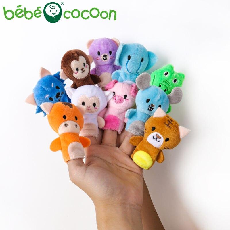 bebecocoon 10 unids / lote juguete de peluche de bebé marionetas de - Muñecas y peluches - foto 2