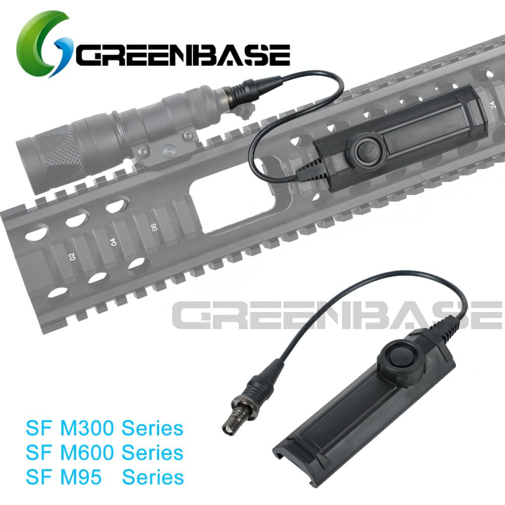 Greenbase M300 / M600 / M951 / M952 Series Constant / Momentary Function Tactical Light Switch Remote Light Tail Dual Switch