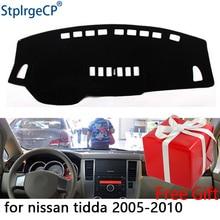 Per Nissan Tiida C11 2007-2011 cruscotto tappetino pad di Protezione Ombra Cuscino Pad interni sticker car styling accessori
