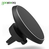 Qi carro Carregador Sem Fio para Samsung S6 S7 S8 para iPhone 8/8 plus/iPhone X 360 Graus de Rotação Do Carro Magnético Telefone titular