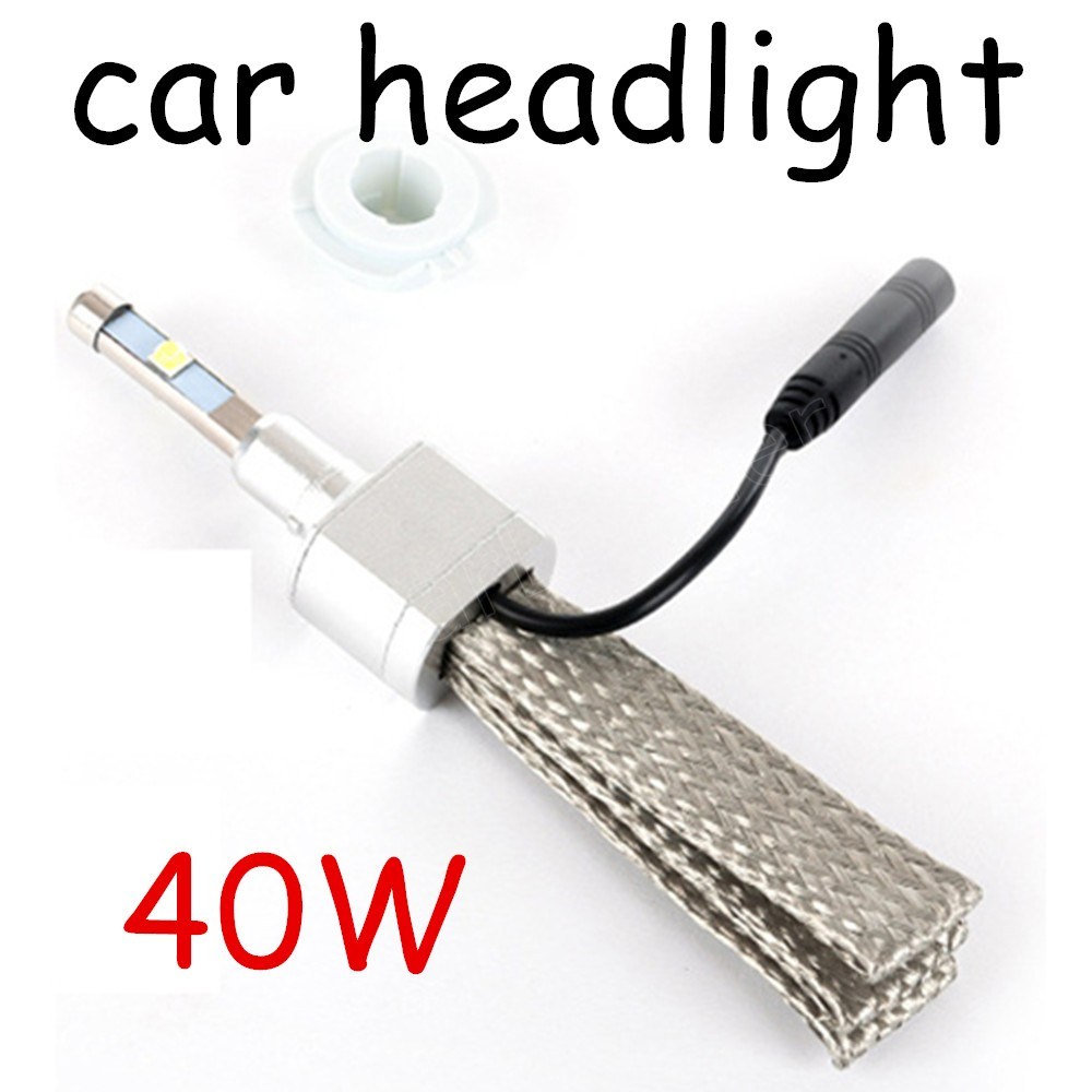 Super bright H4 H7 to choose 40W 4800LM Car Headlights Auto Driving Fog Lamp Bulb 6000K Car Led Light 2 pieces 12V 24V new car styling auto h4 led bulb h7 lighting car led 12v lights h4 h7 led lamps light bulbs headlights for cars led headlights