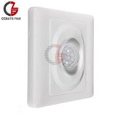 Переменный ток 110 В 220 В светодиодный датчик движения PIR переключатель ИК инфракрасный датчик индукции человека датчик обнаружения внутри и на открытом воздухе выключатель светильник переключатель