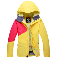 2016 New Ski Clothing Women Better Than Snowboarding Windbreaker Waterproof Thick Warm Breathable Ski Suits