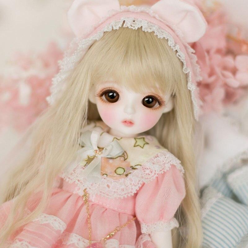 New Arrival 1/6 BJD Doll BJD/SD Fashion Style Cute Miu Doll For Baby Girl Birthday Gift Present кукла bjd dc doll chateau 6 bjd sd doll zora soom volks