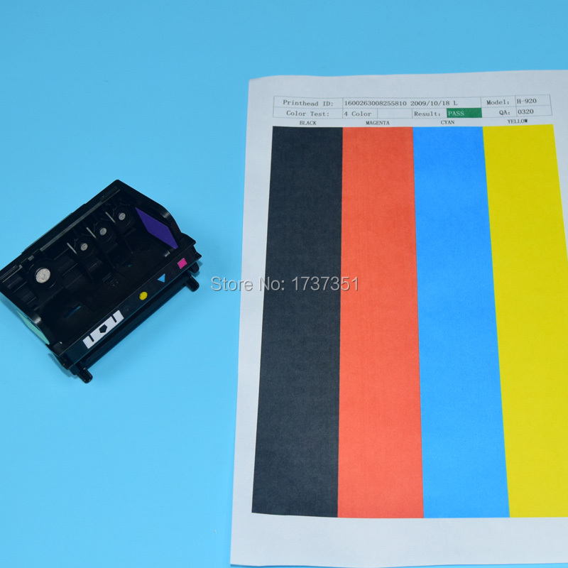 HP920 Printhead for hp officejet 6000 6500 6500a 7000 7500a B109A B110A B209A B210A printer head for hp 920 with testing paper tianse full ink cartridge for hp 920 xl for hp 920xl for hp920 hp920xl for hp officejet 6000 6500 6500a 7000 7500 7500a printers