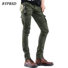 74880c41a Compra men biker green army jeans y disfruta del envío gratuito en ...