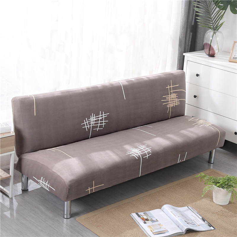 Marvelous Universal Size Armless Sofa Bed Cover Folding Seat Slipcovers Stretch Covers Cheap Couch Protector Elastic Bench Fold Covers 70 Download Free Architecture Designs Scobabritishbridgeorg