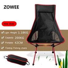 Moderne Outdoor Camping Stoel voor Picknick vissen stoelen Gevouwen stoelen voor BBQ Camping, Strand, Travelling, Kantoor stoelen