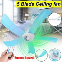 71CM Electric Energy Saving Ceiling Fan Anti mosquito Hanging Fan Air Conditioner Cooler with RC 3meter cord for Summer 5 Blades