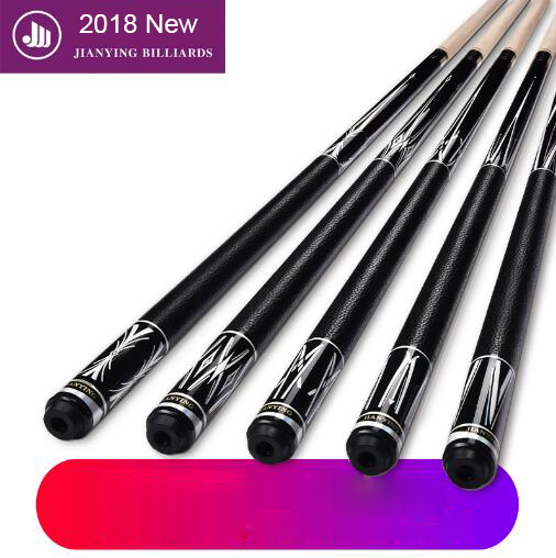 купить 2018 New Arrival Pool Cue PB 1/2 Pool Cues Stick with Case 12.75mm Tips Stick Billiard Cues Pool Stick Made In China по цене 5576.47 рублей