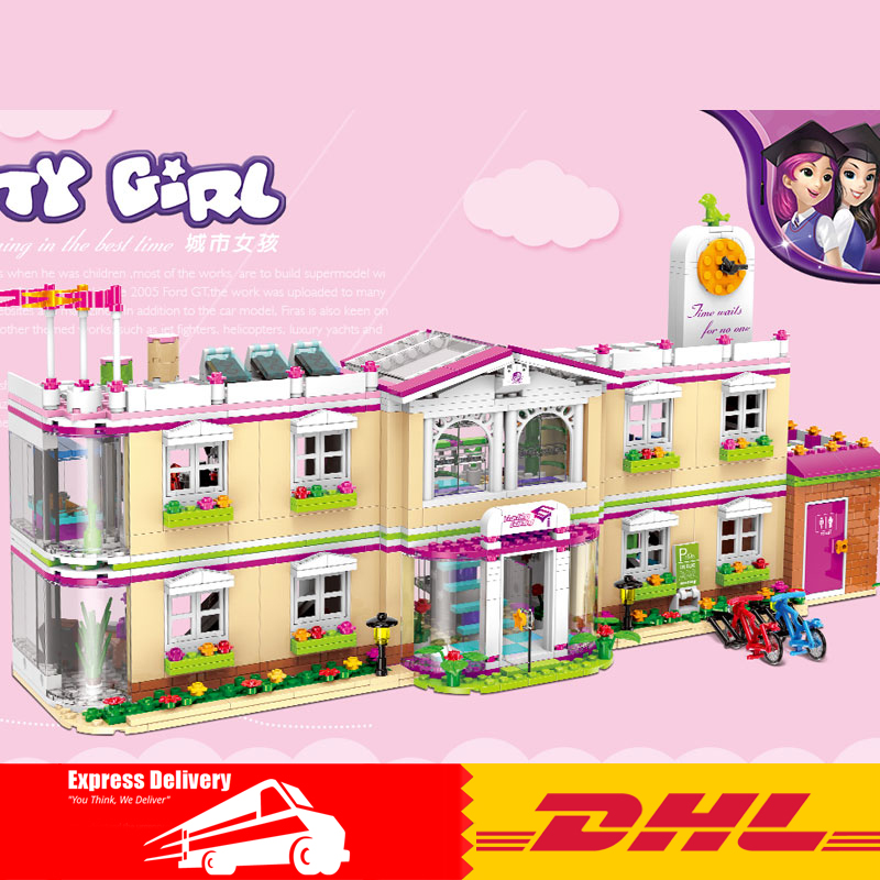 Здесь продается  XINGBAO 12001 New 1750Pcs City Girl Series The Happy Teaching Building Set Building Blocks Bricks Funny Toys for Child Girls  Игрушки и Хобби
