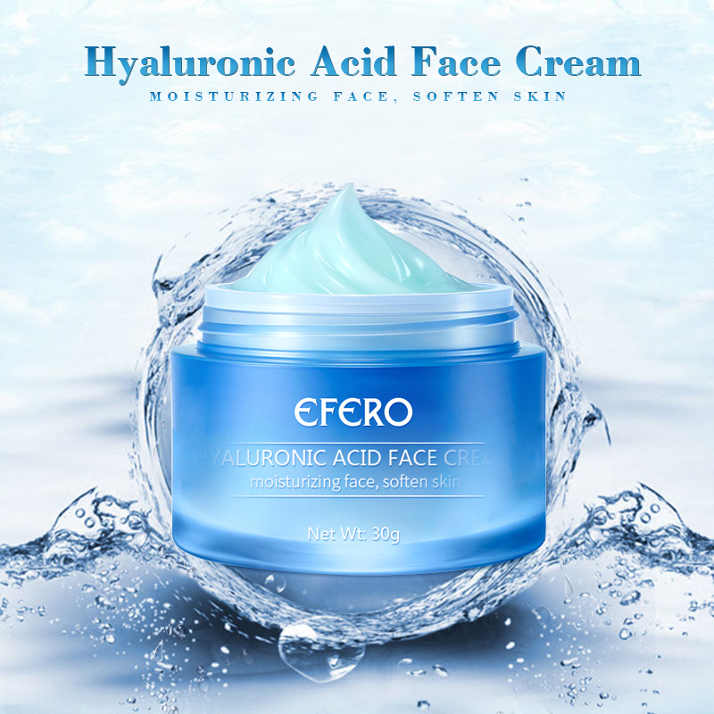 EFERO Day Creams Hyaluronic Acid Argireline Face Cream Moisturizing Anti-wrinkle Firming Anti Aging Acne Treatment Cream TSLM1