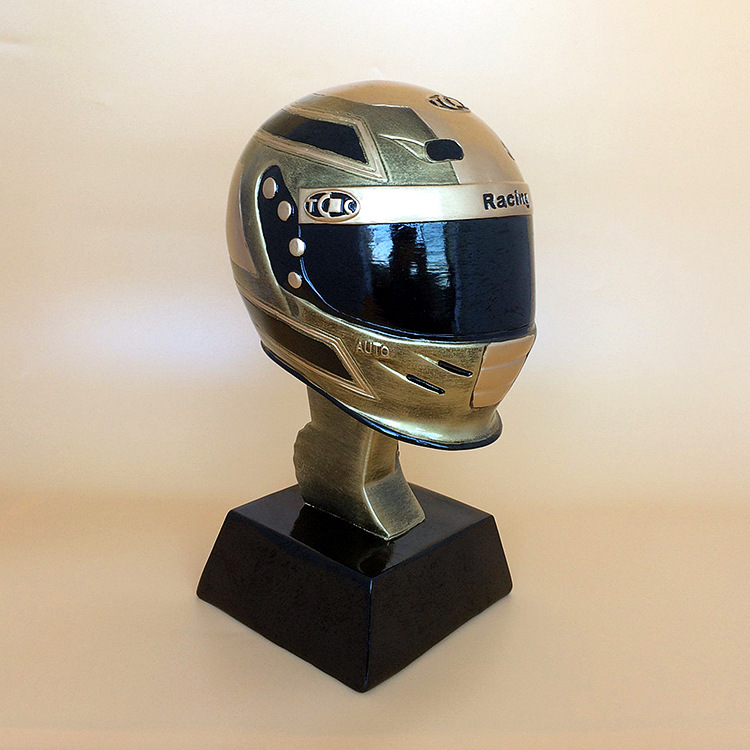 The Racing trophy Trophy cup The Motor Racing Trophy cup Award for the Best Racer Free shipping Fans Souvenirs Nice Gift hot 2016 soccer goalkeeper golden trophy best goalkeeper trophy cup best goal keeper trophy award for goalkeeper gold color
