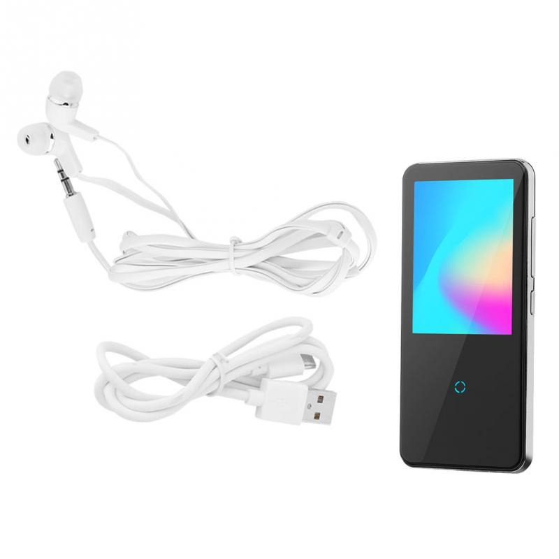 8g Schwarz Tragbare Wireless Bluetooth 4,1 Hifi Verlustfreie Mp3 Musik-player Mit Touch Screen Mp3 Musik Spieler 2018 Neue Schrecklicher Wert Hifi-geräte