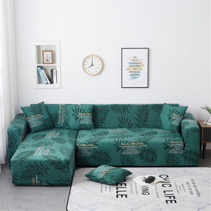 Image 5 - Parkshin Geometric Slipcover Stretch Sofa Covers Furniture Protector Polyester Loveseat Couch Cover Sofa Towel 1/2/3/4 seater
